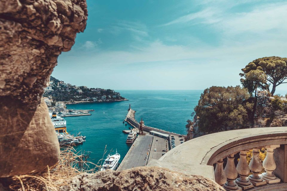 Küste an der Cote D'Azur