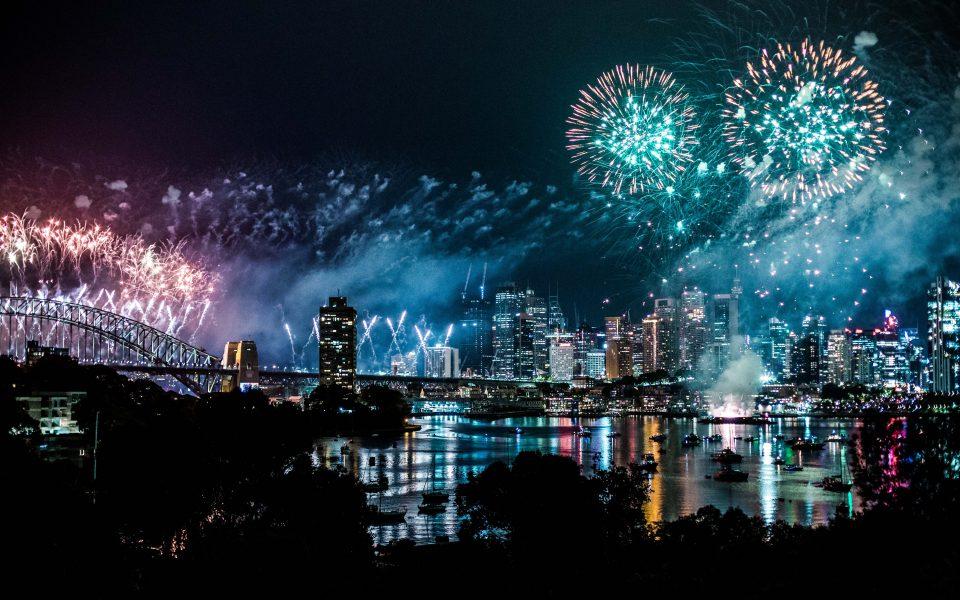 Feuerwerk in New York