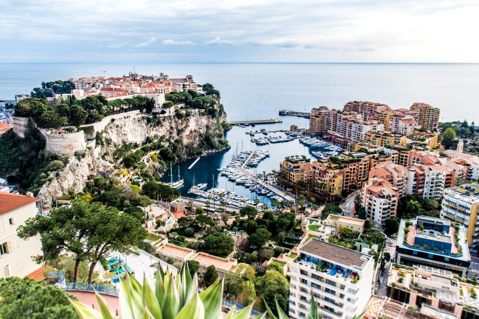Monaco von oben