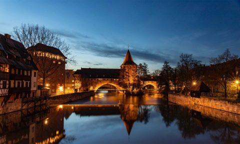 Abend in Nürnberg